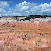 Point Supreme Overlook - Cedar Breaks - Utah  Poster