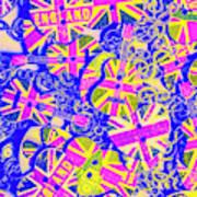Pommy Pop Rock Poster