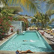 Pool At Las Hadas Poster