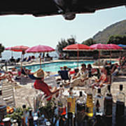 Poolside Bar Poster