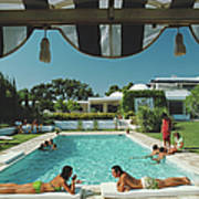 Poolside In Sotogrande Poster
