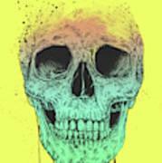Pop Art Skull Poster