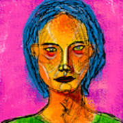 Portrait Of A Woman 1139 Poster