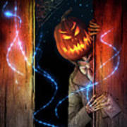 Posthumous Pumpkin Poster