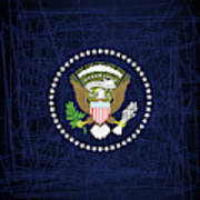 President Seal Eagle Poster