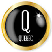 Q For Quebec Poster