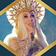 Queen Cher Poster