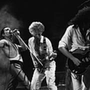 Queen Live Poster