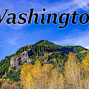 Randle Washington In Fall Poster