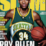 Ray Allen: The Color of Money SLAM Cover Poster