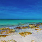 Remote Beach Paradise Turks And Caicos Poster