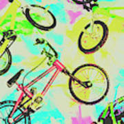 Retro Rides Poster
