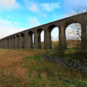 Ribblehead Viaduct On The Settle Carlisle Railway North Yorkshire Poster