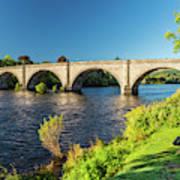 River Tay, Dunkeld, Perthshire Poster
