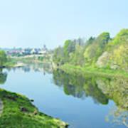 river tweed at Coldstream Poster