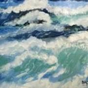 Roaring Ocean Poster
