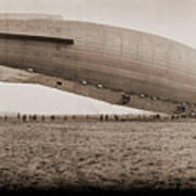 Roma Dirigible At Bolling Field Air Poster