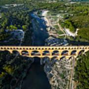Roman Aqueduct, Pont Du Gard Poster