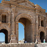 Roman Arched Entry Poster