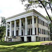 Rose Hill Mansion - Milledgeville, Georgia 4 Poster