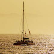 Sailing In The Sunlight Poster