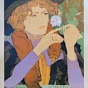 Salon Des Cent, 1894 Vintage French Poster Poster
