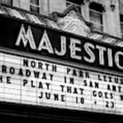 San Antonio Majestic Theatre Poster