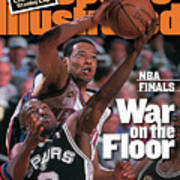San Antonio Spurs Avery Johnson, 1999 Nba Finals Sports Illustrated Cover Poster
