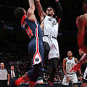 San Antonio Spurs V Washington Wizards Poster