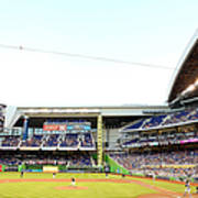 San Diego Padres V Miami Marlins Poster