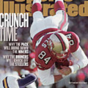 San Francisco 49ers Brent Jones, 1998 Nfc Divisional Sports Illustrated Cover Poster