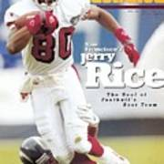 San Francisco 49ers Jerry Rice... Sports Illustrated Cover Poster