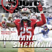 San Francisco 49ers Richard Sherman, 2018 Nfl Football Sports Illustrated Cover Poster