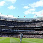 San Francisco Giants V New York Yankees Poster