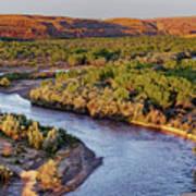 San Juan River At Sunrise Poster