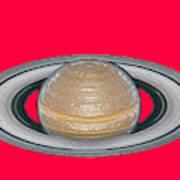 Saturnian Image 2 Poster