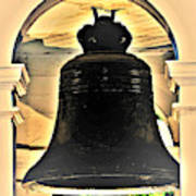 Savannah Exchange Bell Poster