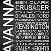 Savannah Ga 4 Poster