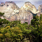 Scenic Zion - Mount Carmel Highway Drive 4 Poster