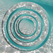 Seabed Circles Poster