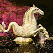 Seaphorse In Spring Poster