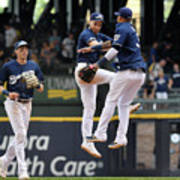 Seattle Mariners V Milwaukee Brewers Poster