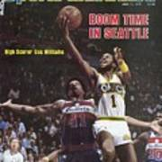 Seattle Supersonics Gus Williams, 1979 Nba Finals Sports Illustrated Cover Poster