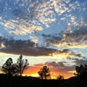 Sedona Sunset Hills Poster
