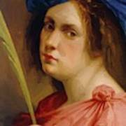 Self Portrait As A Female Martyr 1615 Poster