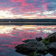 September Dawn At Esopus Meadows I - 2018 Poster