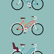 Set Of Three Modern Vector Flat Design Poster