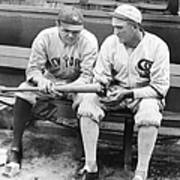 Shoeless Joe Jackson And Babe Ruth Poster