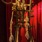 Skeleton  In Torturedevise Poster