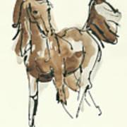 Sketchy Horse Vi Poster